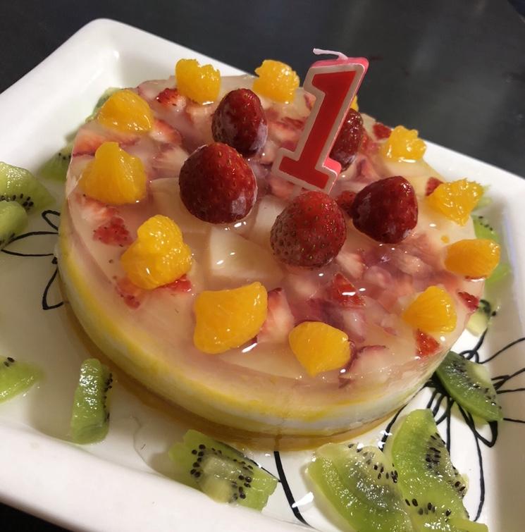 ゼラチンケーキの写真